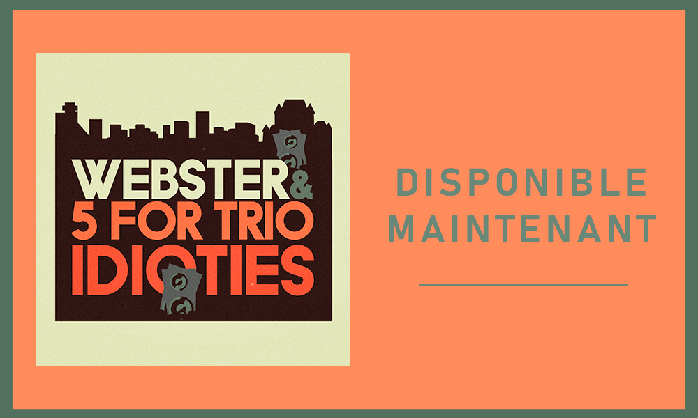 Webster unveils a new single in collaboration with the jazz collective 5 for Trio