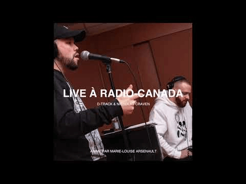 D-Track & Nicholas Craven - live à Plus on est de fous plus on lit (Radio-Canada)