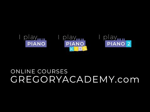 Gregory's Academy  - I PLAY PIANO - Gregory Charles