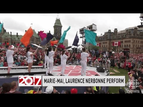 Laurence Nerbonne, Marie-Mai perform